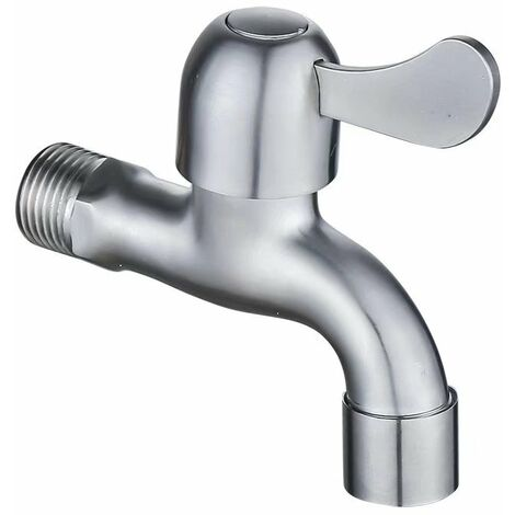 304 Stainless Steel Faucet Tap Bathroom Faucet (A)