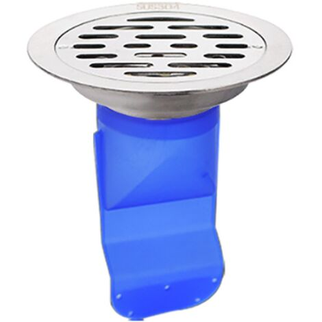 304 Stainless Steel Floor Siphon, Bathroom Deodorant Floor Siphon, Washing Machine Round Floor Drain, Deodorant Silicone Core