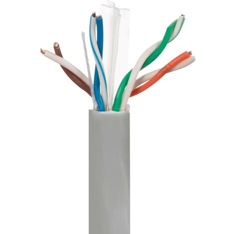 305m Cable UTP CAT6 Cobre/Aluminio