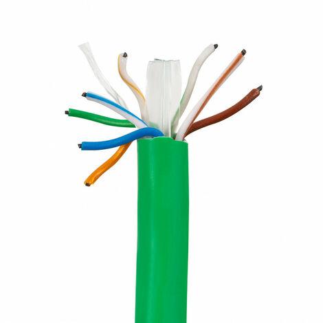 305m Cable UTP CAT6 Cobre Puro Libre de Halógeno