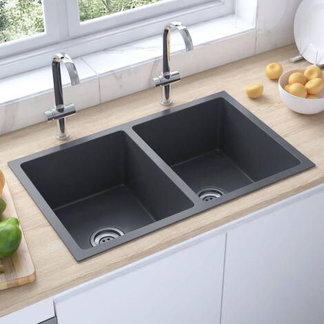 "main image of ""3072539 Handmade Kitchen Sink Black Stainless Steel (51519)22619-Serial number"""