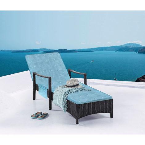 3.08 Gartenliegenauflage Ultra Soft - Hideaway Luxus Memory Foam