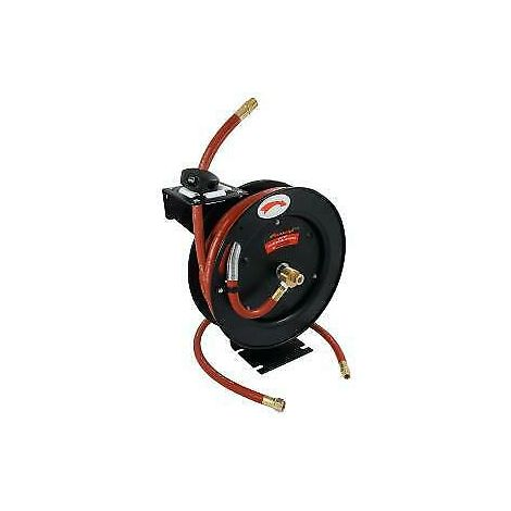 "30ft x 3/8"" inch Auto-retractable Air Line Wall Mountable Hose"