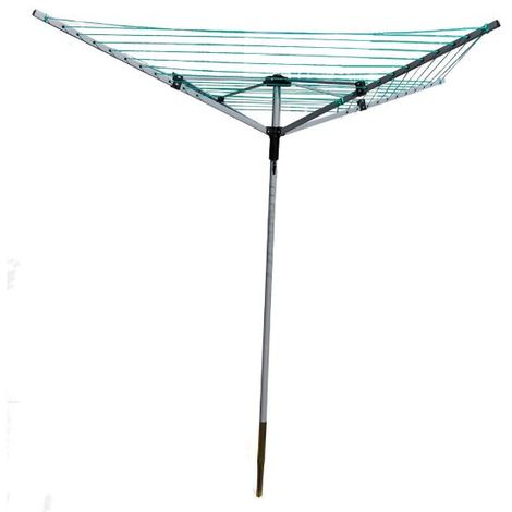 30m 3 Arm Rotary Clothes Airer