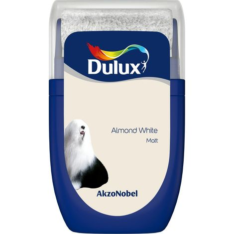 30ml Almond White Roller Tester Dulux