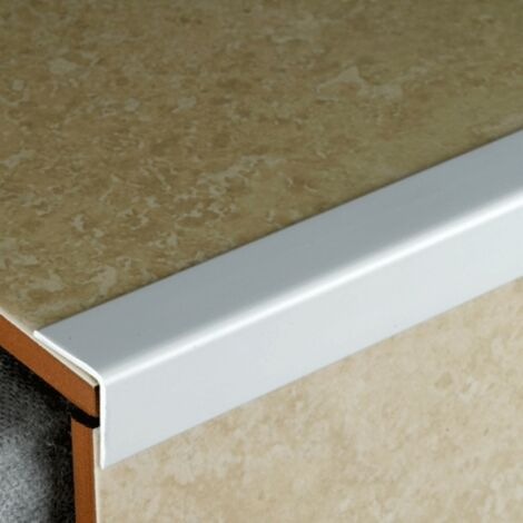 30mm x 30mm White PVC Corner Guard