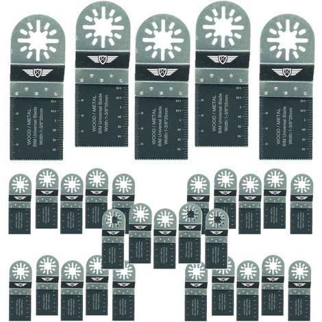 30pcs TopsTools Metal Cutting Multitool Blades - UN35B_30
