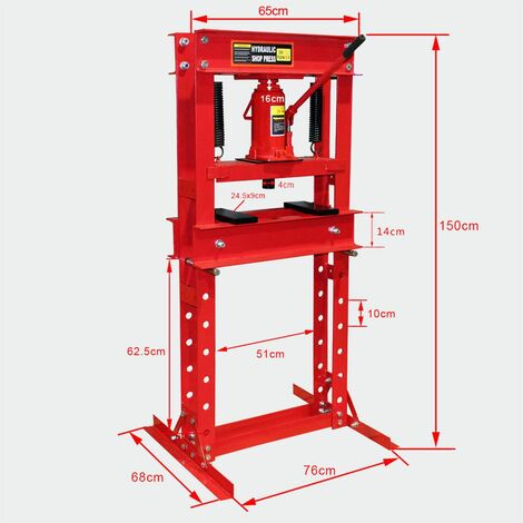 30T atelier de presse hydraulique cadreuse de presse