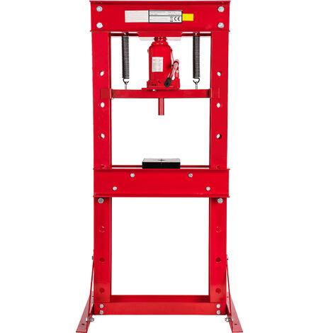 30T presse d'atelier automobile pompe presse hydraulique 30 tonnes montage