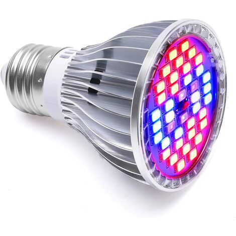 """main image of """"30W 40LED Bulb Growth Lamp Lighting E27 for plant with 7 AC 85-265V wavelength for plants, flowers and interior vegetables / greenhouse / garden / garden"""""""