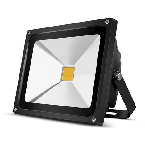 30W COB 3000LM LED Floodlight Security Light IP65 Warm White LED Outdoor Light High Power Spotlight