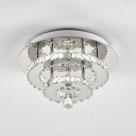30W LED Ceiling Light Crystal Chandelier Pendant Lamp