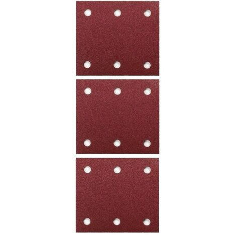 "30X Makita 114mmX101 1/4"" Sheet Palm Sander Sanding Sheets BO4555 40 80 120 Grit"