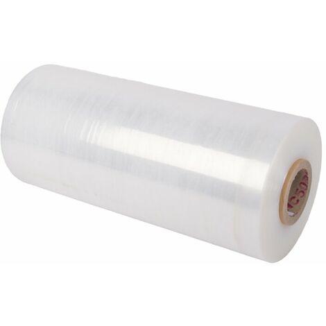 30x Maschinenstretchfolie transparent 23 my 300% Dehnung Stretchfolie Palette