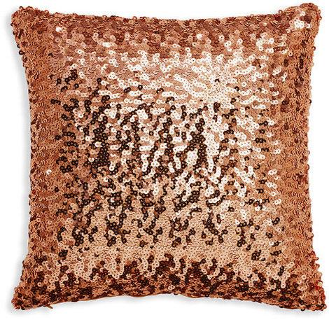 30x30cm Sparkle Bronze Sequin Cushion 008327