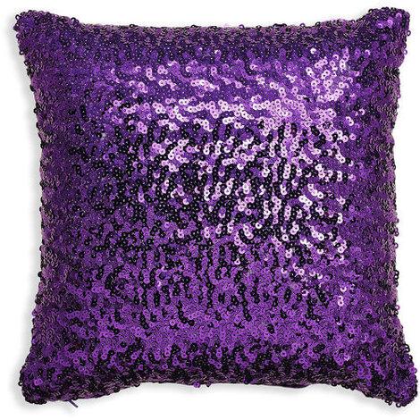 30x30cm Sparkle Purple Sequin Cushion 008328