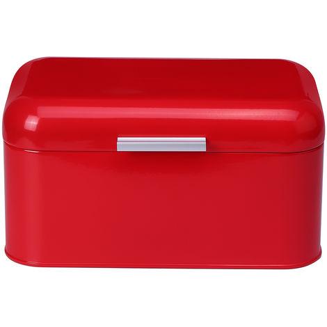 31.5X21X17CM Retro Metal Bread Box Large Capacity Kitchen Tank Sasicare