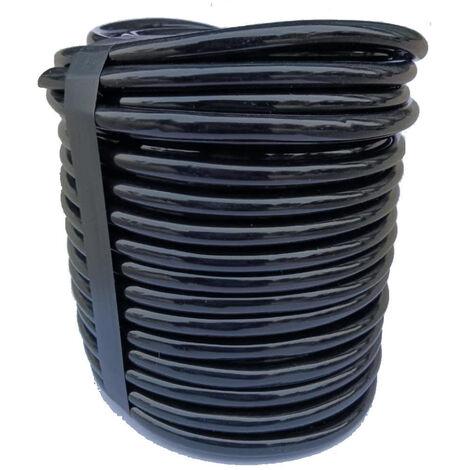 32 pies 1/4 pulgadas Tubo de riego por goteo en blanco Tubo Manguera de jardin de riego Tubo Linea de riego del jardin para el pequeno sistema de riego del jardin, 10m