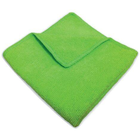 "main image of ""32X36CM Economy Green Microfibre Cloth- you get 5"""