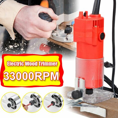 33000 tr / min tondeuse à bois électrique routeur coupe-bois outil de coupe tondeuse à stratifié 220 V (prise UE - sans bo?te)