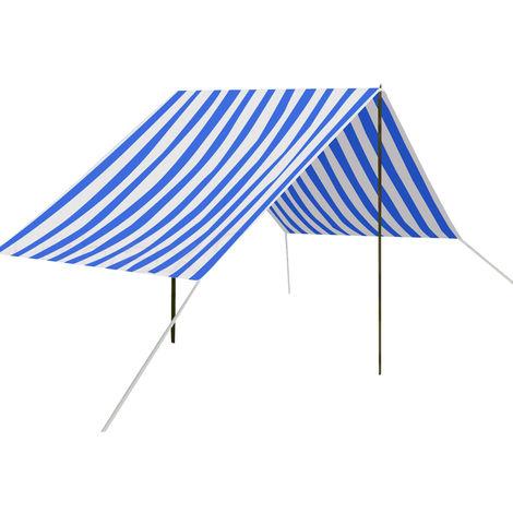 330x180 cm Sonnensegel Schatten Strand Markise Markisenzelt Camping Markise Terrasse Garten