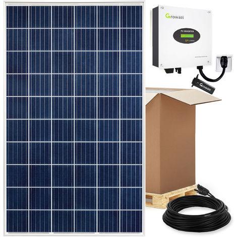 3360 Watt Solaranlage Photovoltaikanlage Plug & Play mit Einspeisesteckdose und WiFi