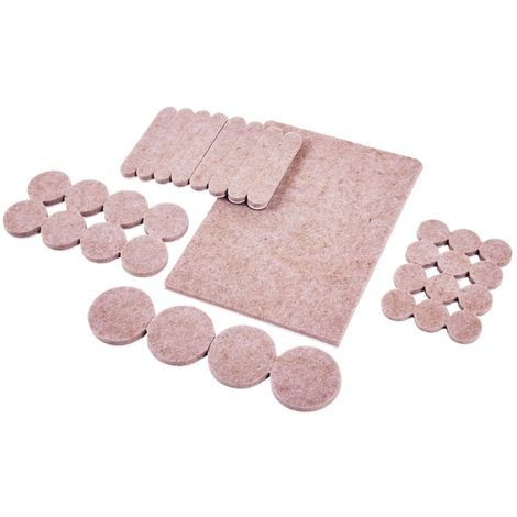 33pc Self Adhesive Felt Pad Set