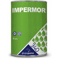 340 Impermor: Hidrofugante incoloro. Impermeabilizante / imprimación de superficies. 1 Lt