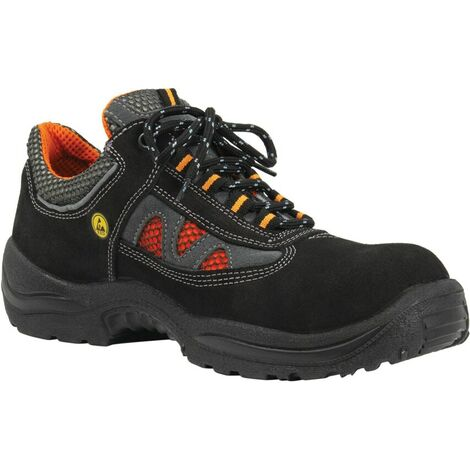 3460A Jalas Black Safety Trainers