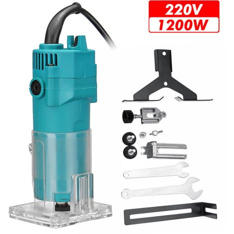 35000r / min Electric Cutting Machine Hand Trimmer 1200W Plastic Woodworking Tool