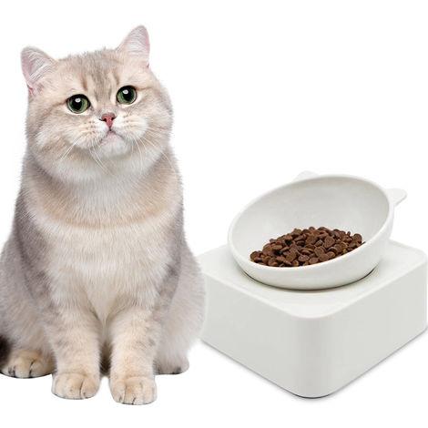 350g Cat Bowl Pet Feeders Magnetic Adjustable Raised Non-Slip Food Bowl