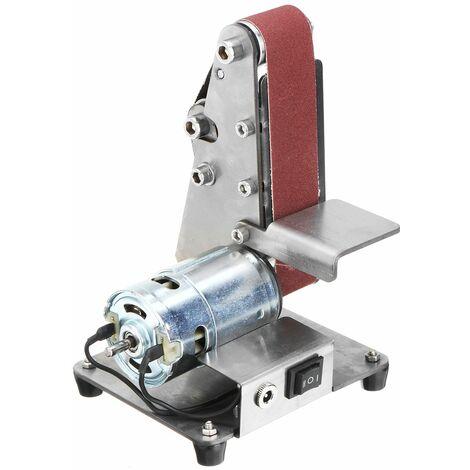 350W mini belt sander polishing grinder + 5 sanding belts