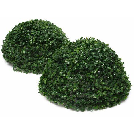 """main image of """"35cm Herbe Boule Artificielle Plante Suspendu Mariage Jardin Maison Pot Décor LAVENTE"""""""