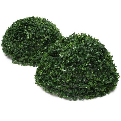 35cm hierba artificial bola colgante planta boda jardín hogar olla decoración