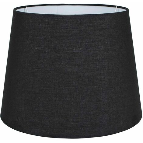 35cm Tapered Table / Floor Lamp Light Shade - Navy Blue