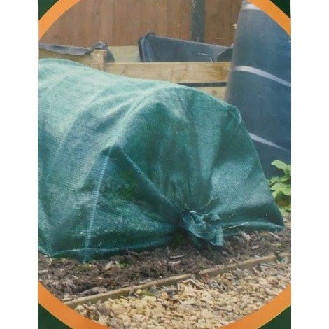 3.5m x 1m Net grow tunnel kit green house greenhouse