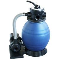 3.5m3/h sand filtration unit
