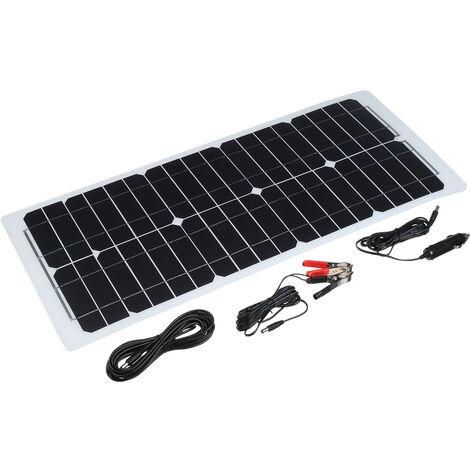 35W 12V A panneau solaire batterie Clip chargeur camping-car RV voiture caravane bateau