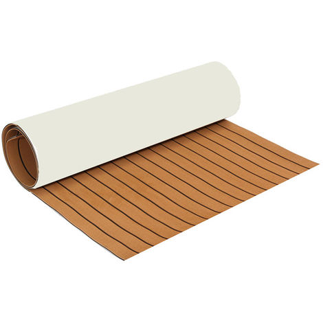 35X91 '' Eva Marine Foam Teak Floor Sheet Boat Decking Carpet Yacht Floor Mat Hasaki