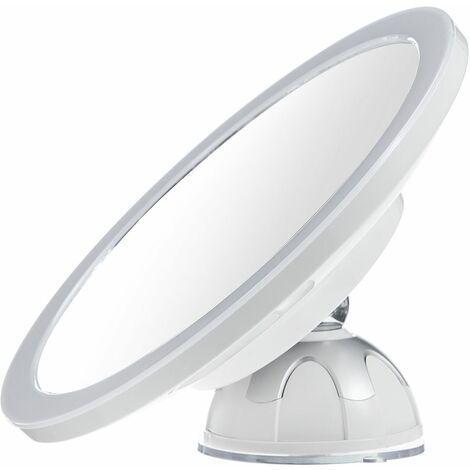 360�� Rotatif Rechargeable Miroir de Maquillage avec Lumi��re LED