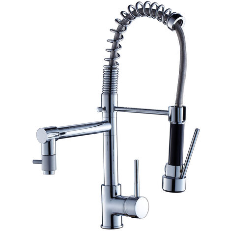 Kitchen Faucet Kitchen Sink Taps Single Handle 360/° Rotation Kitchen Mixer Tap Pull Out Sprayer