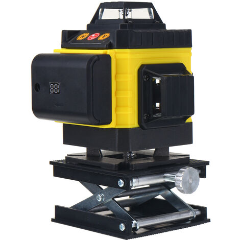 360¡ã Rotary 16 Lines Self Leveling Laser Level 4D Green Beam Auto Measuring Tool