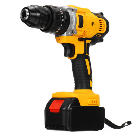 36V 108vf Cordless Electric Rechargeable Drill Driver Power With Li-Ion Battery