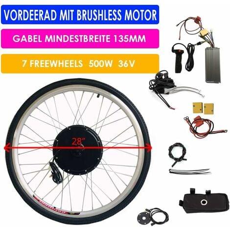 """main image of """"36V 500W 28"""" Kit de modification pour la roue arrière du vélo, kit de conversion de roue arrière Moteur arriere pour vélo électrique E-bike"""""""