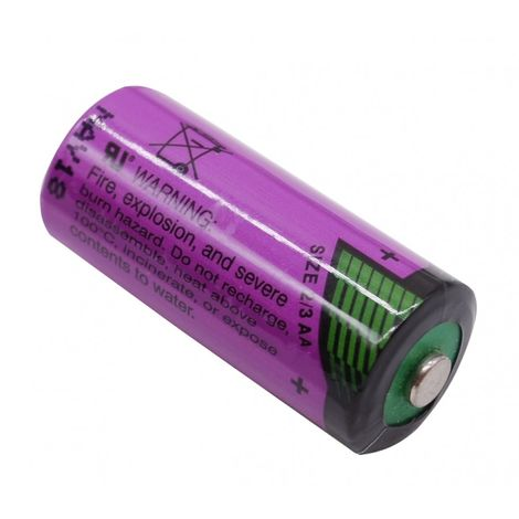 3.6v Lithium 2/3 AA size Battery. [010-1310]