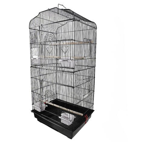 "37"" Metal Bird Cage Parrot Cage Budgie Lovebird Canary Finch Cockatiel - Different colours"
