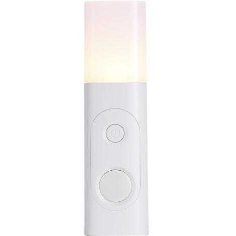 3.7V 0.6W USB Charging Table Lamp Bedside Lamp PIR Motion
