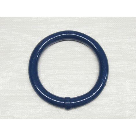 "main image of ""38MM 16.6 Ton Grade 80 FRAM Round Ring 38.O.6 - Masterlink Lifting Blue Powdercoated EN1677-1"""