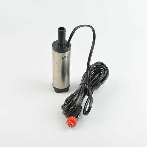 38mm allume-cigare et pompe diesel en acier inoxydable pompe a huile submersible 38mm en acier inoxydable avec filtre 38mm diametre exterieur clip 12v