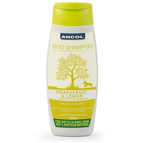 390410 - Dog Shampoo Lemon And Grapefruit 200ml